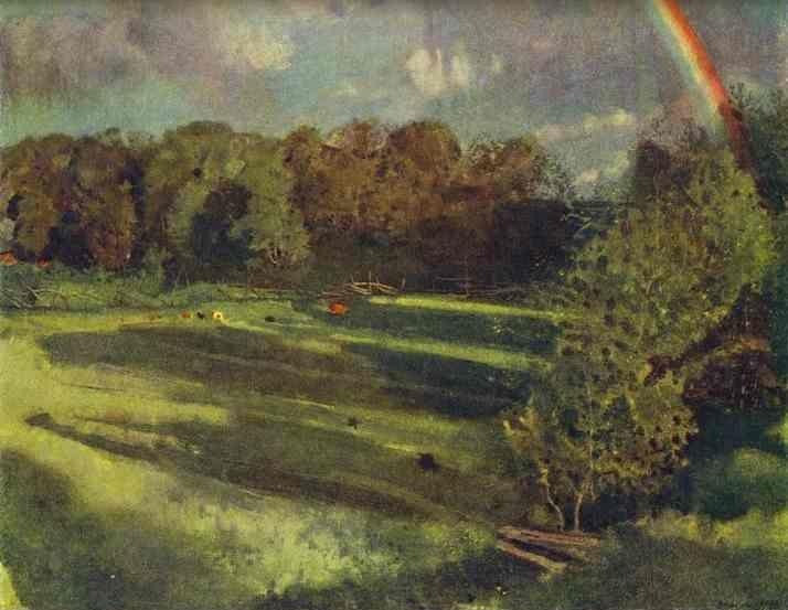 Constantin Somov. Summer. Evening Shadows.