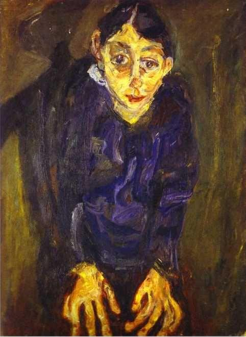 Chaim Soutine. The Mad Woman/La folle.
