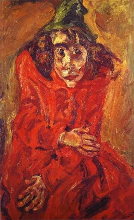 Chaim Soutine The Mad Woman La Folle