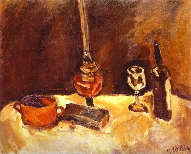 Chaim Soutine. Still Life with Lamp.