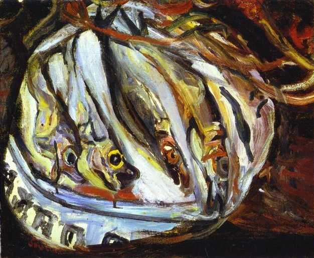 Chaim Soutine. Still Life with Fish.
