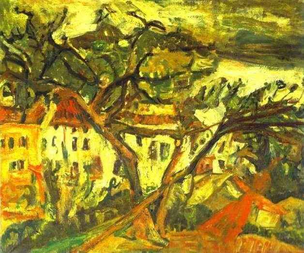 Chaim Soutine. Landscape of the South of France/Paysage du Midi.