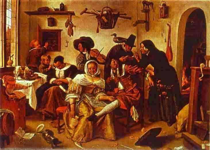 Jan Steen. The World Upside Down.