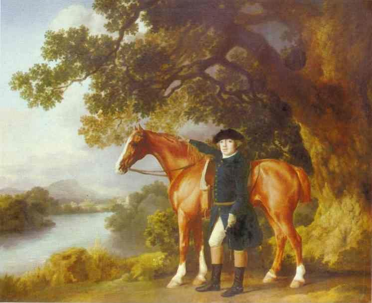 George Stubbs. Portrait of a Huntsman.