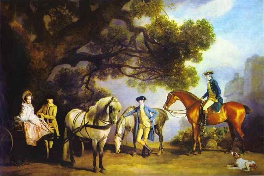 George Stubbs. The Melbourne and Milbanke Families.