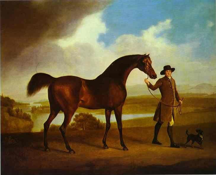George Stubbs. Earl Grosvenor's Bandy.