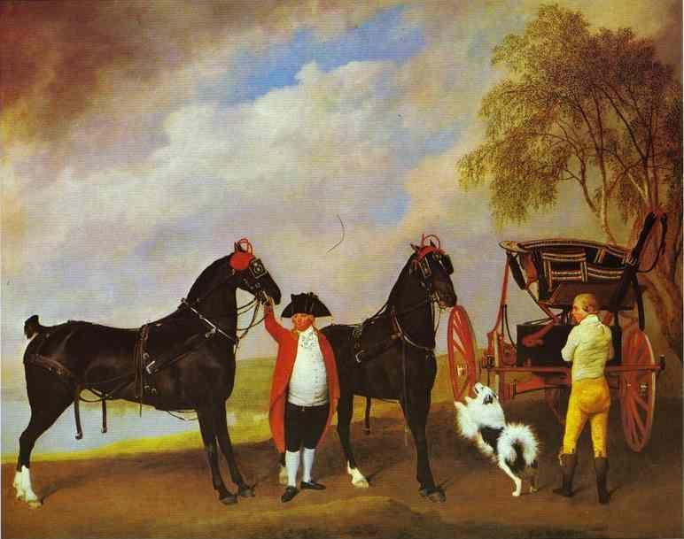 George Stubbs. The Prince of Wales's Phaeton.