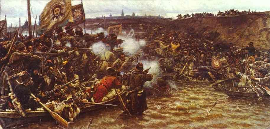 Vasily Surikov. The Conquest of Siberia by Yermak.