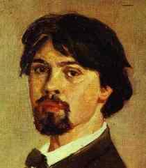 Vasily Surikov Portrait