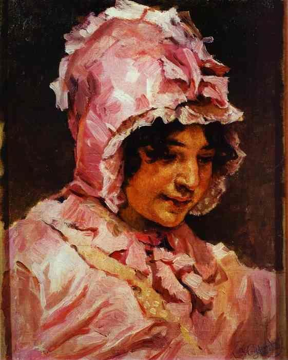 Vasily Surikov. An Italian Woman.