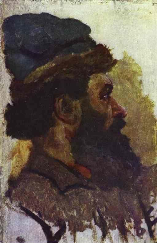 Vasily Surikov. Cossack.