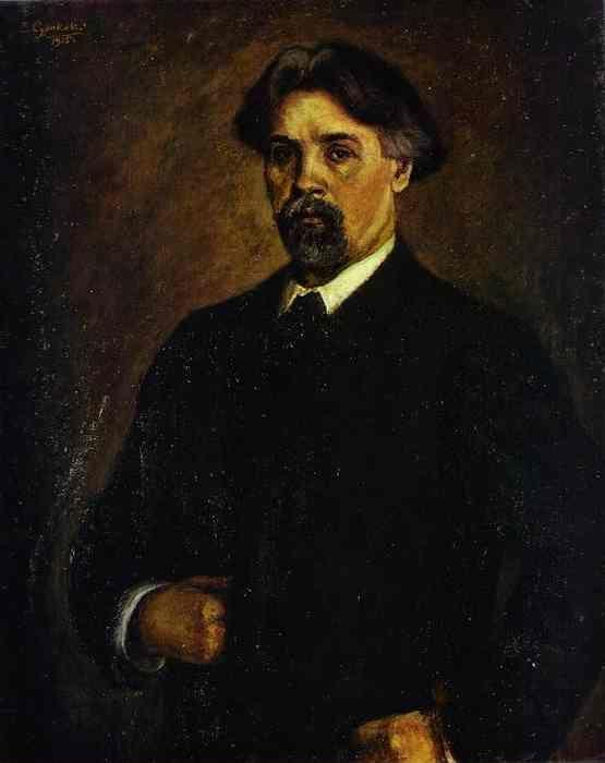 Vasily Surikov. Self-Portrait.