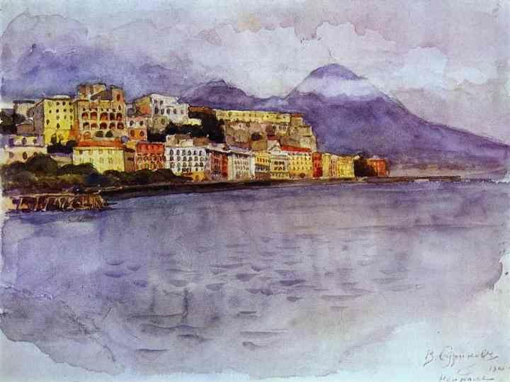 Vasily Surikov. Naples.