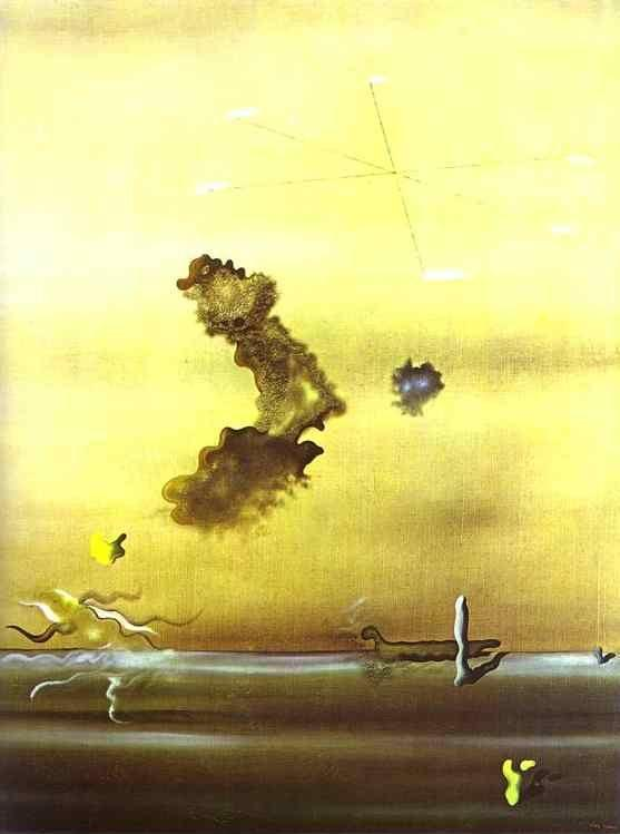 Yves Tanguy. Outside.