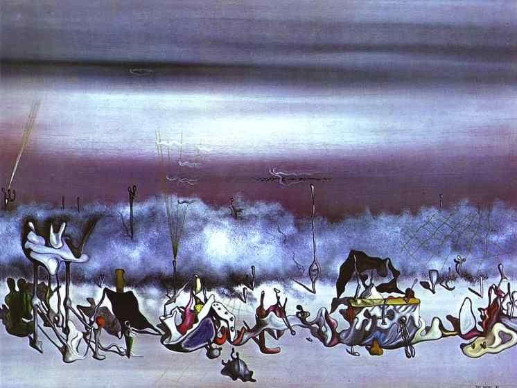 Yves Tanguy. The Ribbon of Extremes.