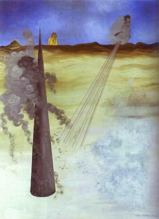 Yves Tanguy. I Came Like I Promised. Je suis venu comme j'avais promis, Adieu.
