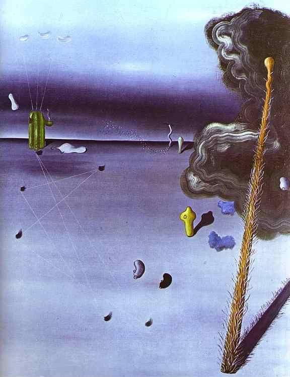 Yves Tanguy. Mama, Papa Is Wounded!.