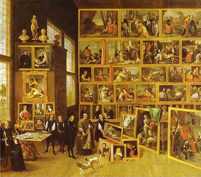 David Teniers the Younger. The Art Collection of Archduke Leopold-Wilhelm in Brussels.