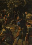 Jacopo Robusti, called Tintoretto. Last Supper. Detail.