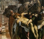 Jacopo Robusti, called Tintoretto. Translation of the Body of St. Mark. Detail.