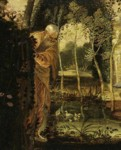 Jacopo Robusti, called Tintoretto. Susannah and the Elders. Detail.