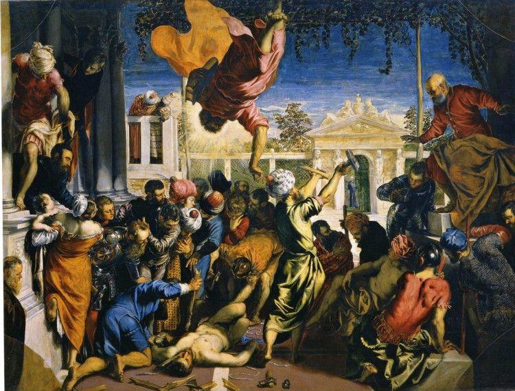 Jacopo Robusti, called Tintoretto. Miracle of the Slave.
