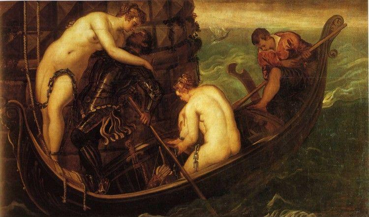 Jacopo Robusti, called Tintoretto. The Rescue of Arsinoe.