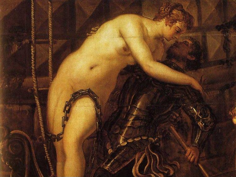 Jacopo Robusti, called Tintoretto. The Rescue of Arsinoe. Detail.