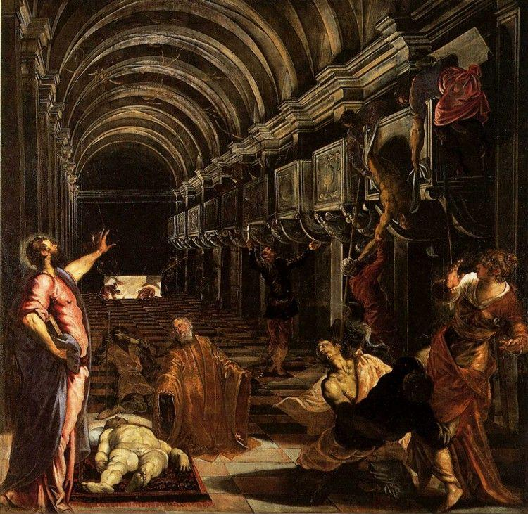 Jacopo Robusti, called Tintoretto. Discovery of the Body of St.Mark.