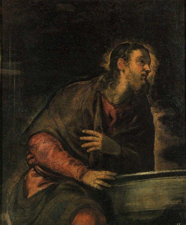 Jacopo Robusti, called Tintoretto. Christ at the Well.