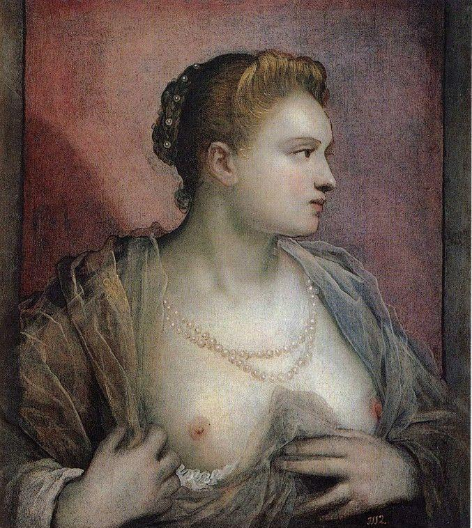 Jacopo Robusti, called Tintoretto. The Woman who Discovers the Bosom.