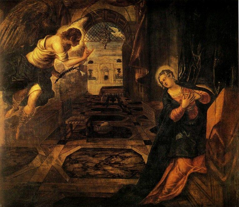 Jacopo Robusti, called Tintoretto. Annunciation.