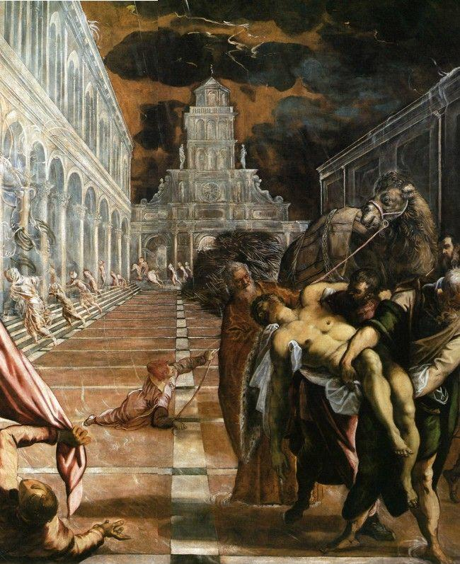 Jacopo Robusti, called Tintoretto.  Translation of the Body of St. Mark.