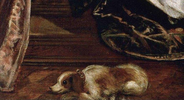Jacopo Robusti, called Tintoretto. Danae. Detail.
