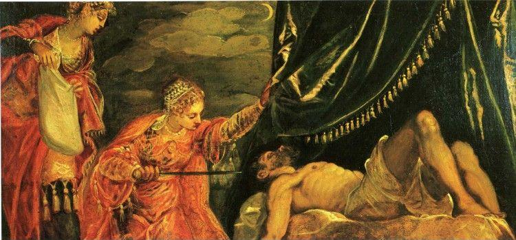 Jacopo Robusti, called Tintoretto. Judith and Holofernes.