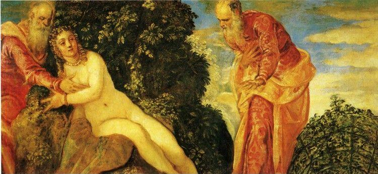 Jacopo Robusti, called Tintoretto. Susanna and the Elders.