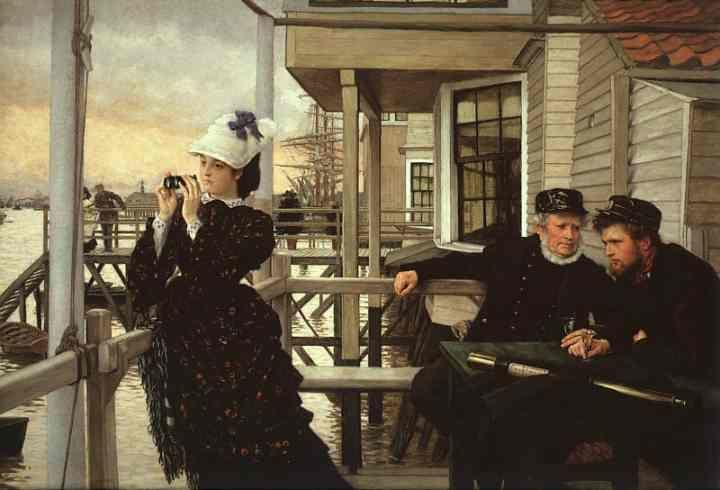 James Tissot. The Captain's Daughter.