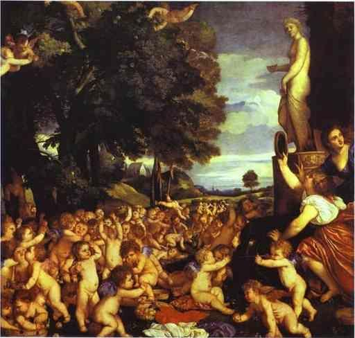 Titian. The Worship of Venus.