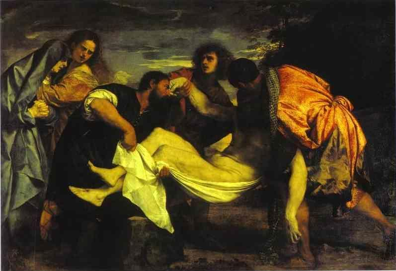 Titian. Entombment of Christ.