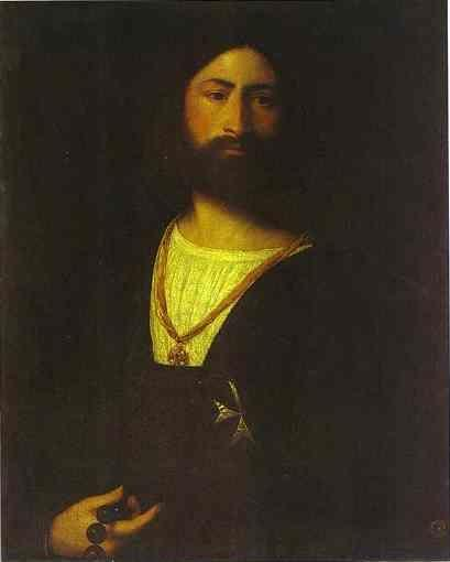 Titian. A Knight of Malta.