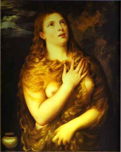 Titian. St. Mary Magdalene.