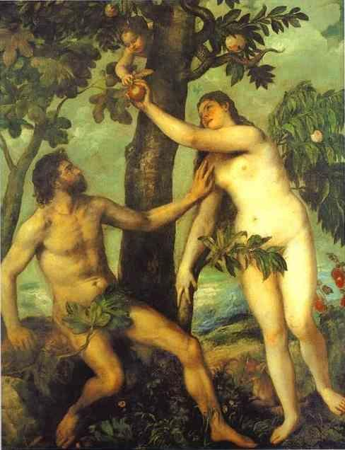 Titian. Adam and Eve.