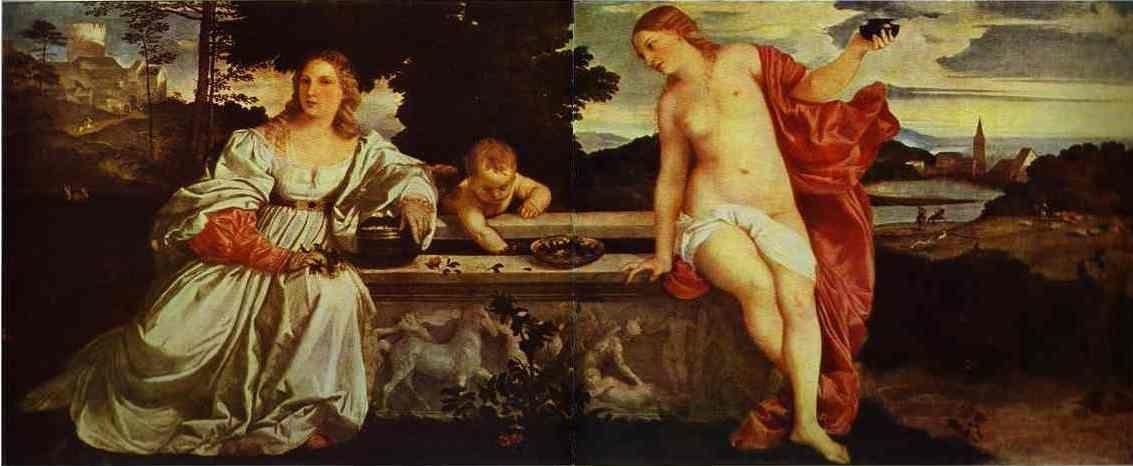 Titian. Sacred and Profane Love.