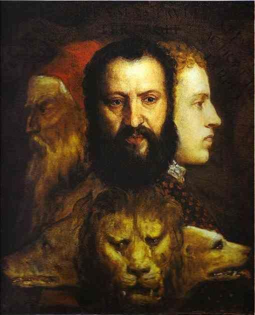 Titian. Allegory of Time Governed by Prudence.