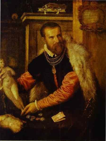 Titian. Portrait of Jacopo de Strada.