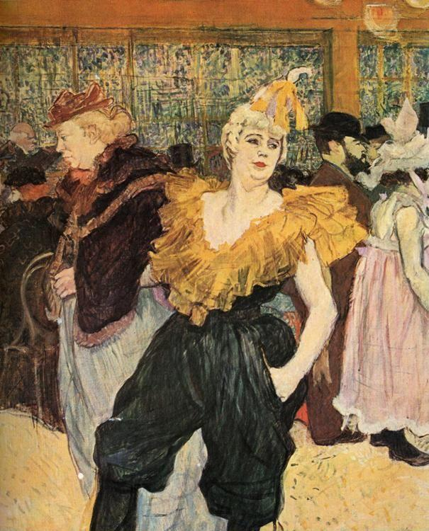 Henri de Toulouse-Lautrec. The Clowness Cha-U-Kao.