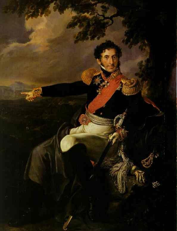 . Portrait of the Prince P. I. Bagration.