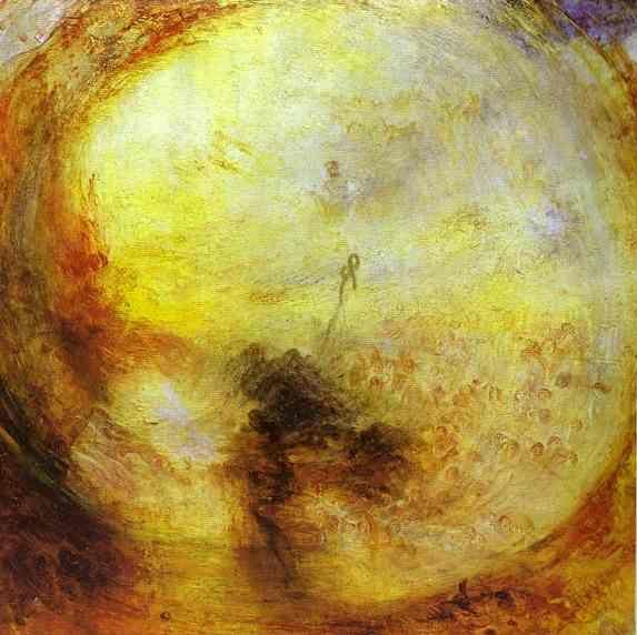 William Turner. Light and Colour (Goethe's Theory) - The Morning after the Deluge - Moses Writing the Book of Genesis.