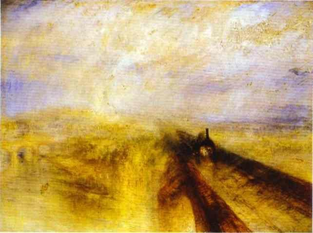 William Turner. Rain, Steam and Speed - The Great Western Railway.