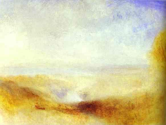 William Turner. Landscape with a River and a Bay in the Background.